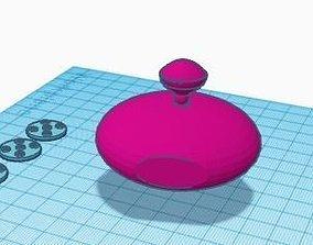 3D printable model space 1999 kaldorians spaceship