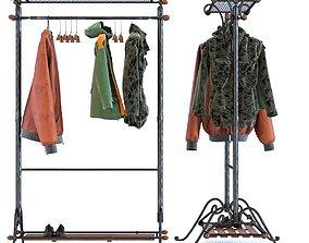 Clothing Rack Cosmopolitan 3D