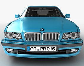 3D model Car business class sedan