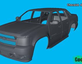 3D printable model Chevrolet Avalanche