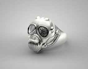 Steampunk Ring 3D printable model