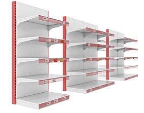 3D model Storage shelves