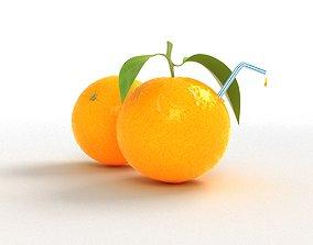 Tasty Orange 3D model