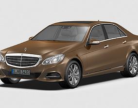 3D model 2014 Mercedes Benz E Class