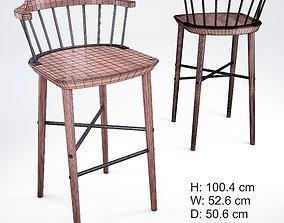 Bar stool Exchange Stellar Works 3D model