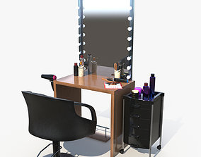 Salon Chair 3D