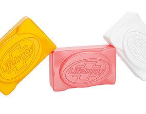 3D model Lifebuoy soap