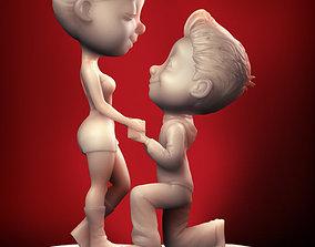 3D print model Love in the Air - III