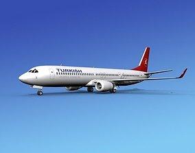 Boeing 737-900ER Turkish Airlines 3D
