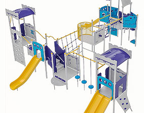 3D model Playground Equipment 037