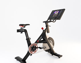 3D Peloton Indoor Exercise Bike
