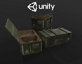 3D model Ammo military box