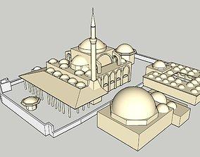 3D printable model mosque MOSQUE
