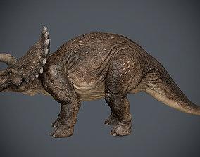3D asset Triceratops-maya-Rigging