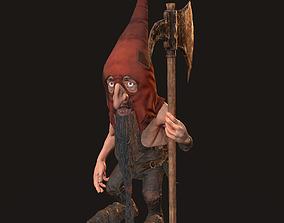 Gnome 3D asset