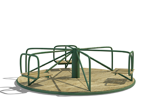 public 3D model Carousel