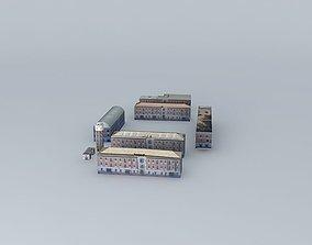 3D Artillery Barracks