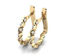 Earrings BS109 3D print model