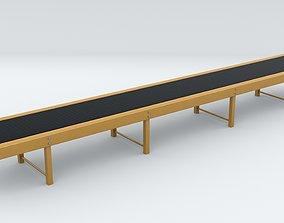 Belt conveyor 3D asset