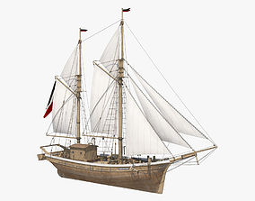 3D model Galeas