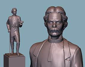 3D print model Maksim Gorky statue