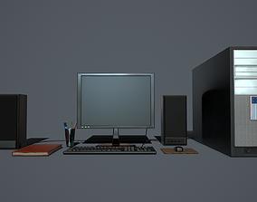 Computer PBR 3D model