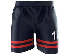 3D Soccer Jersey Shorts