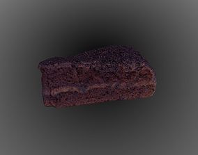 miscellaneous Chocolate Truffle Cake 3D model