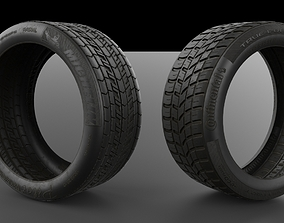 Tyre Model and 4K Texture game-ready