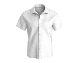 3D male Short sleeve Shirt