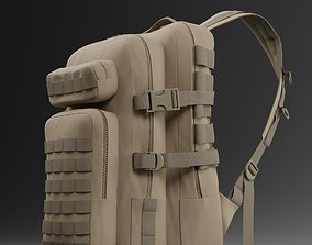 3D Military backpack 3 various colors