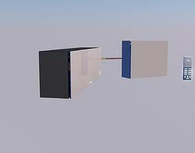 futuristick split system 3D