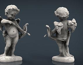 Cupid Statue 3D model