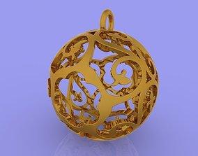 Sphere Pendant 3D printable model