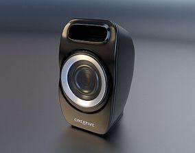 3D model Creative PC Speaker