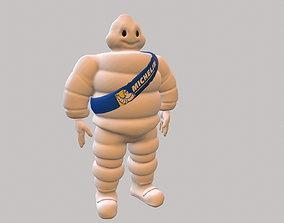 3D asset Michelin man