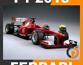 3D model F1 2013 Scuderia Ferrari F138