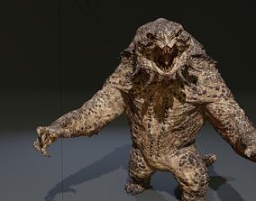 UDIM monster 3D