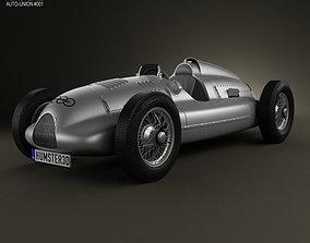 3D model Auto Union Type D 1938