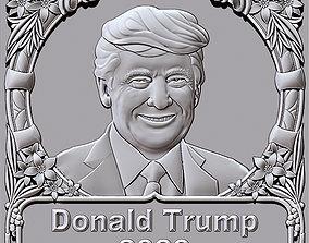 3dcnc Donald Trump 2020 3D printable model