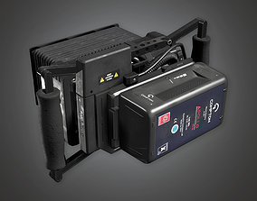 3D asset HLW - Assist Monitor 02 - PBR Game Ready