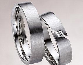 Wedding ring 035 3D printable model