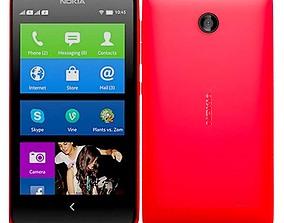 3D Nokia X XPluse Red