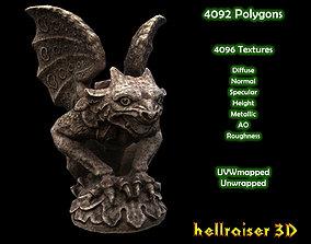 Gargoyle Statue - PBR - Textured 3D asset