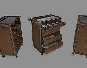 3D asset Cupboard cabinet