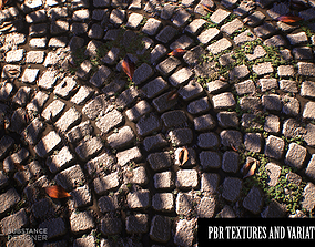 Detailed stone PBR TEXTURES 3D model