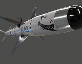 Missile Sidewinder 3D model