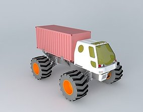 4x4 Tractor 3D