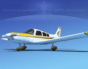 Piper PA-28-235 Cherokee V13 3D model