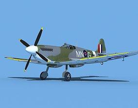 3D Supermarine Spitfire Mk IXb V03